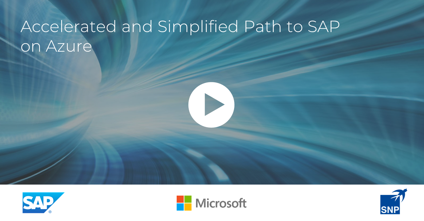 accelerated and simplified path to sap pn azure