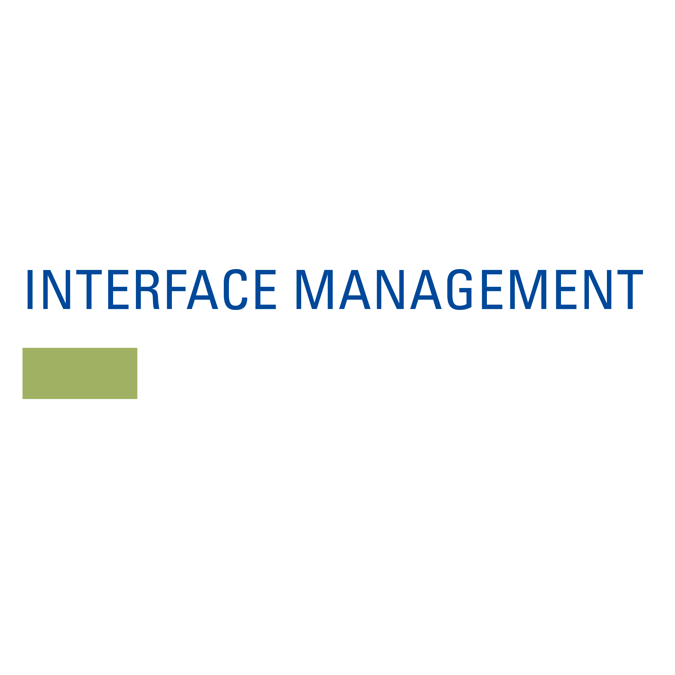 INTERFACE-MANAGEMENT