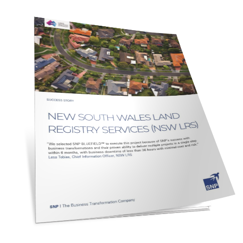 New South Wales LRS S/4HANA