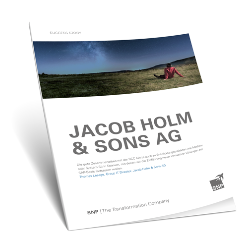 Jacob Holm & Sons AG: Eight Countries, Two Systems, One AMS supplier Book