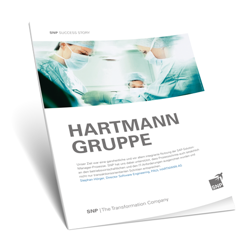 Optimierte Prozesse durch das Upgrade des SAP Solution Managers Book