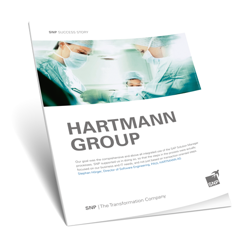 Optimized Processes at HARTMANN GROUP  Book