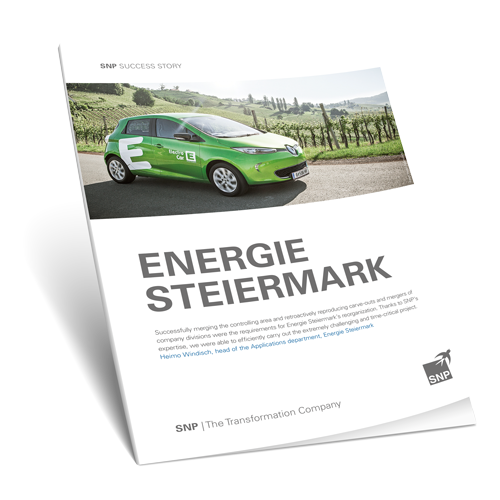 Energie Steiermark Successfully Produces Company Carve-outs and Mergers Book