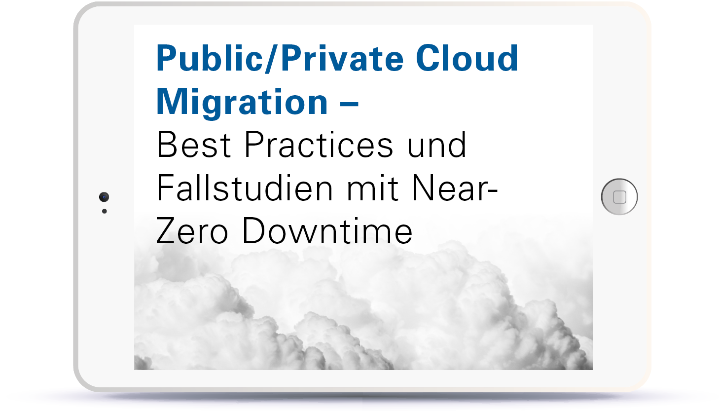 WEBINAR: Public/Private Cloud Migration - Best Practices und Fallstudien mit Near-Zero Downtime. Book