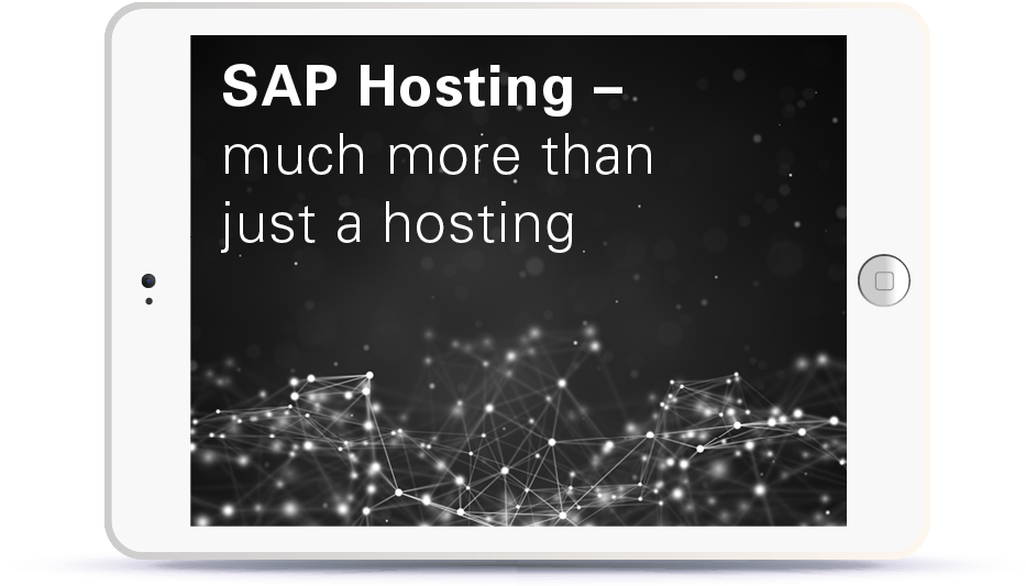 Webinar SAP Hosting - much more than just a hosting Book