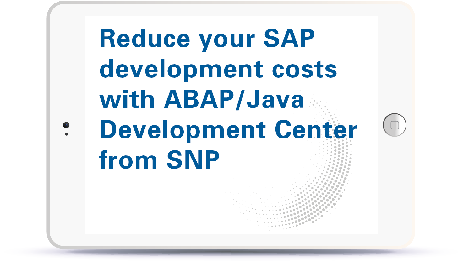 Webinar Reduce your SAP development costs with ABAP/Java Development Center from SNP Book