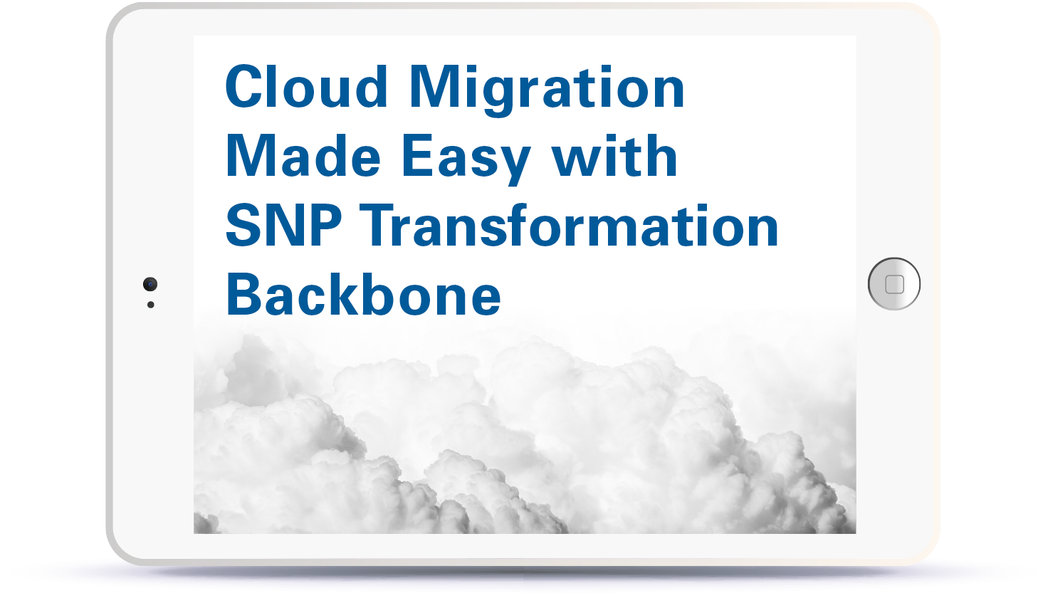 Webinar Cloud Migration Made Easy with SNP Transformation Backbone Book