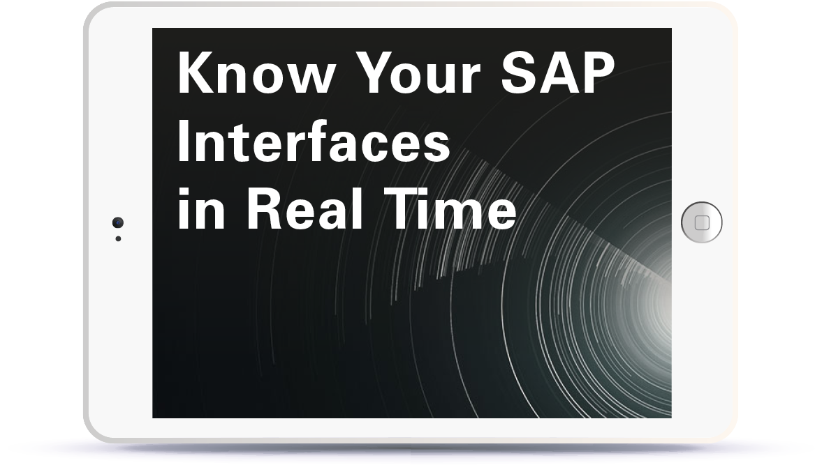 Know Your SAP Interfaces in Real Time  <br> <br> Thursday, 28th June, 14:30 – 15:30 BST Book