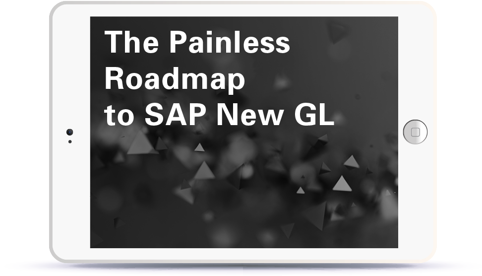 Webinar The Painless Roadmap to SAP New GL Book