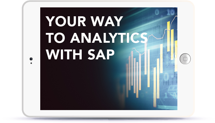 Webinar: Your way to analytics with SAP<br> <br>Tuesday, September 25, 12:00-13:00pm CEST Book