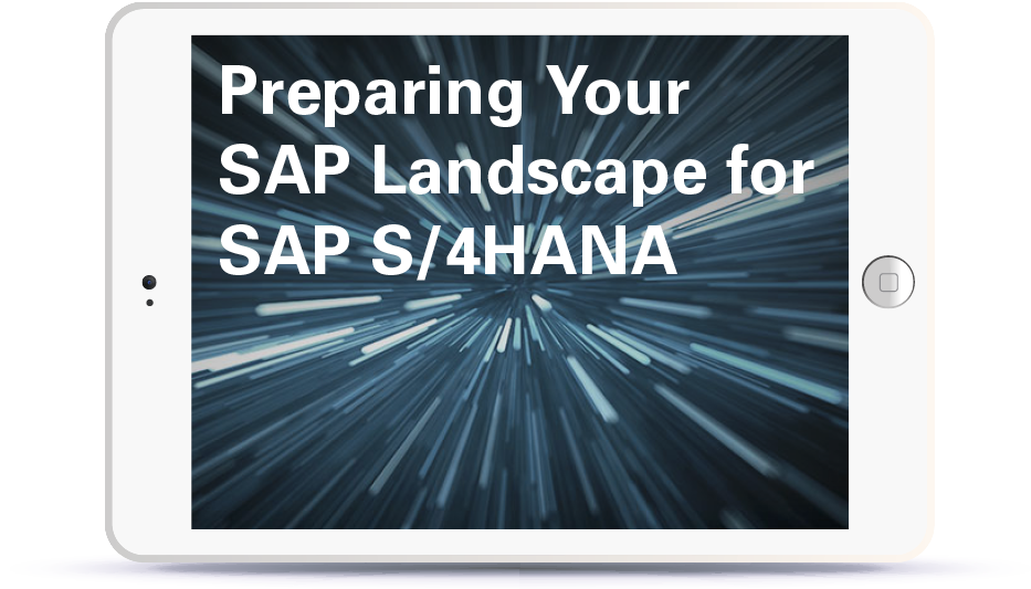 Webinar Preparing your SAP Landscape for SAP S4HANA Book