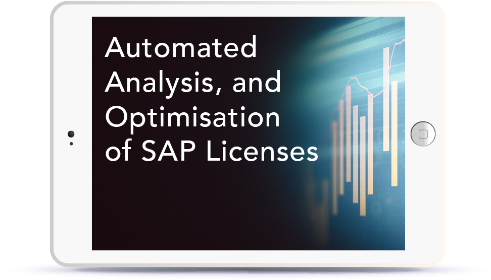 Webinar: Automated Analysis, and Optimisation of SAP Licenses<br> <br>Thursday, October 11, 2:30-3:30 pm BST Book