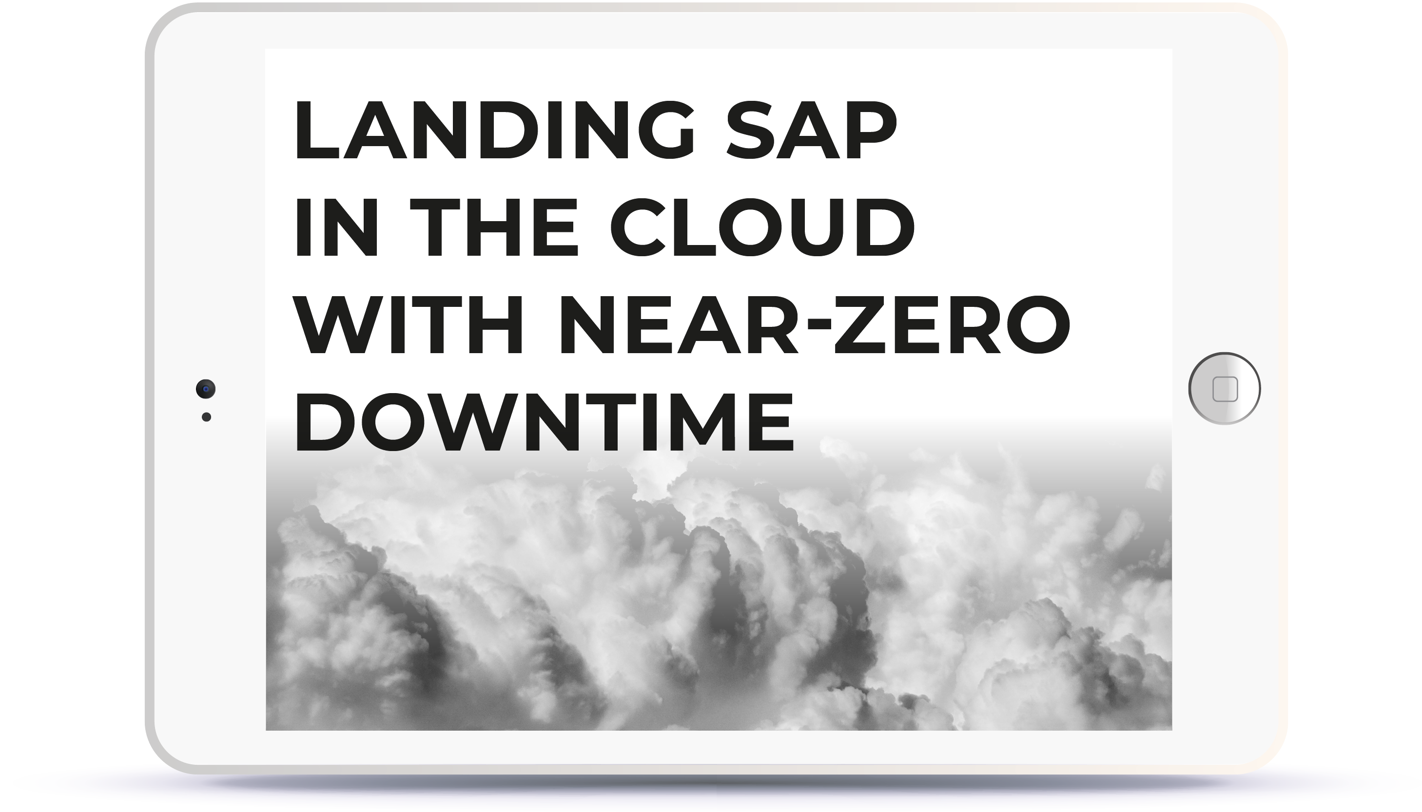 Landing SAP in the Cloud with Near-Zero Downtime. 11:00AM SGT Book