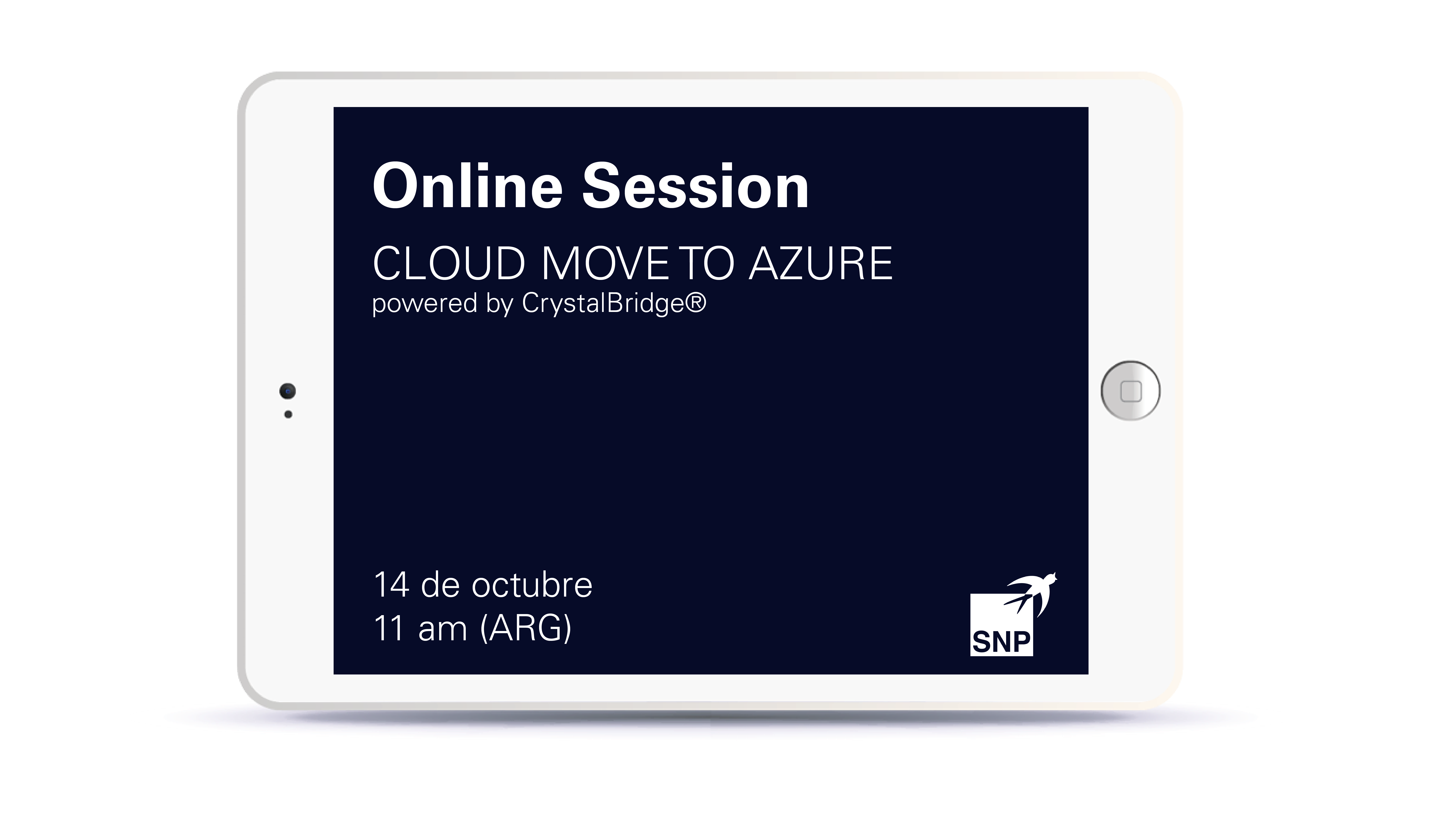 Online Session SNP & Microsoft - Cloud Move to Azure Book