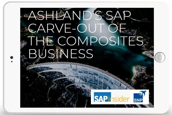 Ashland's SAP Carve Out of the Composites Business