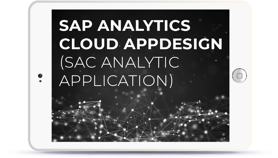 SAP Analytics Cloud AppDesign (SAC Analytic Application). Book